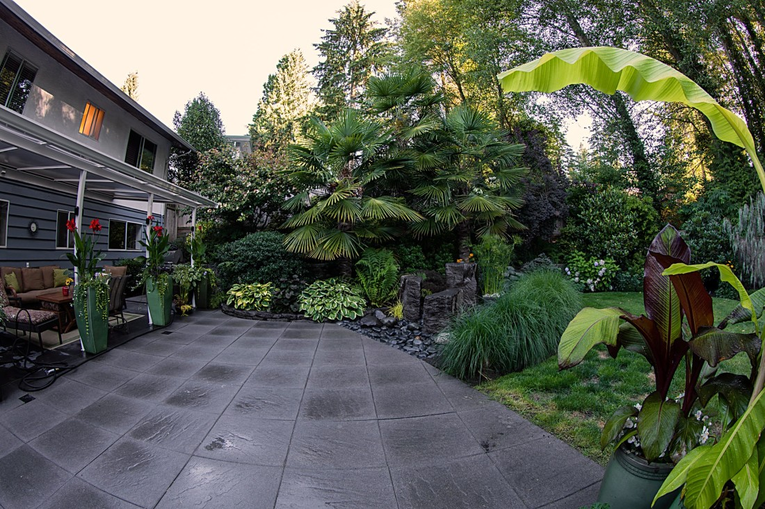 North vancouver landscape design on kilmer 2nd view for Rooftop landscape design